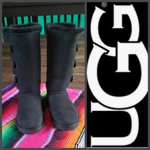 Tall Triplet Bailey Button Ugg Boots